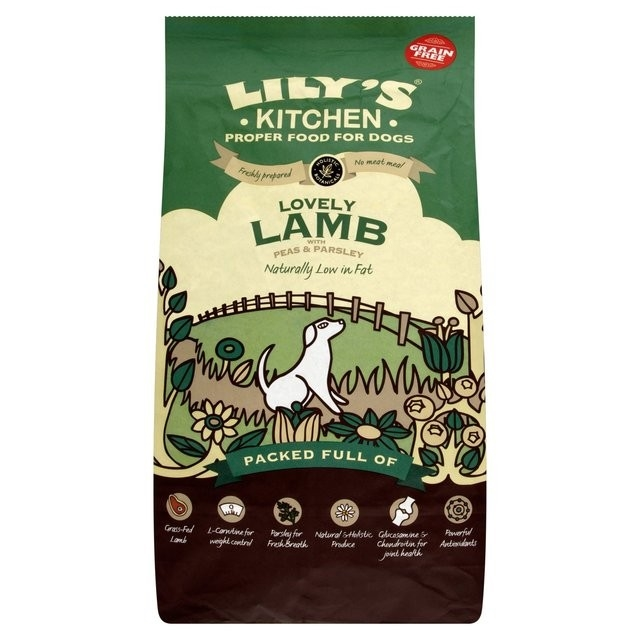 Buy Lilys Kitchen Lovely Lamb with Peas and Parsley grain