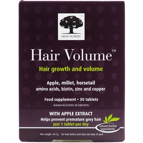 Buy New Nordic Hair Volume 30 Tablets Online at VitaminBay.com