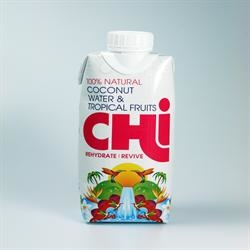 Chi 100% Coconut Water & Trop Frut 330ml
