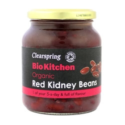 Clearspring Organic Red Kidney Beans 350g