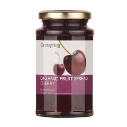 Clearspring Org Fruit Spread Cherry 290g