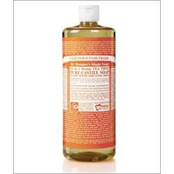 Dr Bronner Tea Tree Castile Liquid Soap 946ml