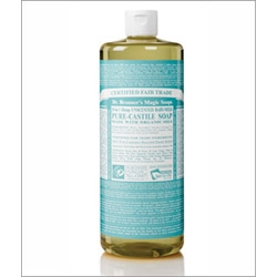Dr Bronner Baby Mild Castile Liquid Soap 946ml