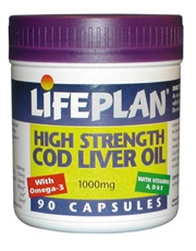 Lifeplan Cod Liver Oil 1000mg 90 capsule