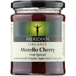 Meridian Org Cherry Fruit Spread 284g