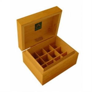 Absolute Aromas Wooden Storage Box 12 Holes box
