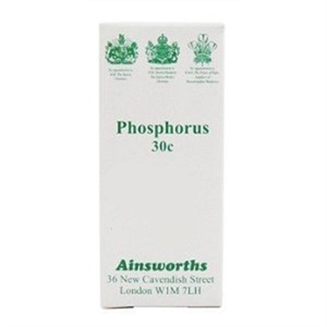 Ainsworths Phosphorus 30C homoeopathic 120 tablet