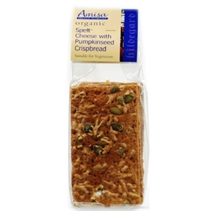 Amisa Org Cheese Pumpkinseed Crisp 200g