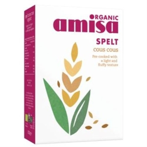 Amisa Org Spelt Cous Cous 500g