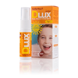 BetterYou DLuxJunior Vit D Oral Spray 15ml