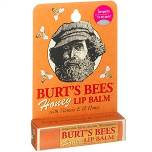Burts Bees Honey Lip Balm Tube .15 ounce