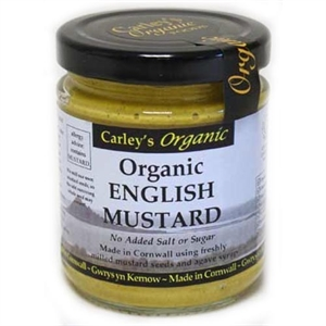 Carley's Org English Mustard 170g