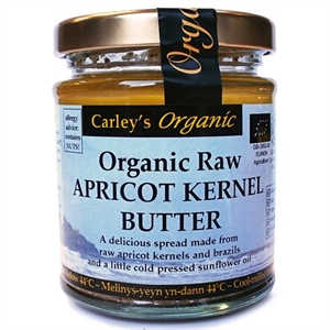 Carley's Org Raw Apricot Kernal Butter 170g