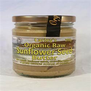 Carley's Org Raw Sunflower Seed Butter 250g