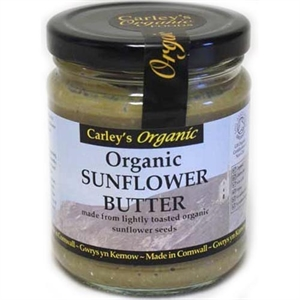 Carley's Org Sunflower Seed Butter 250g