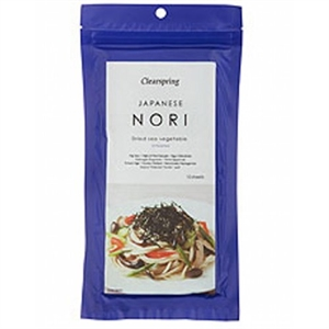 Clearspring Nori Untoasted 25g