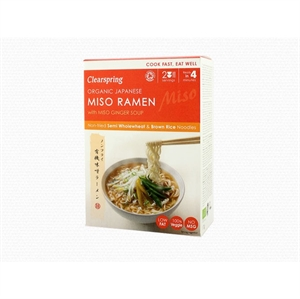 Clearspring Org Miso Ramen w/ Miso Ginger 170g