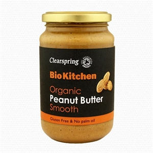 Clearspring Org Peanut Butter Smooth 350g