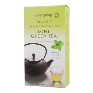Clearspring Organic Mint Green Tea 20bag
