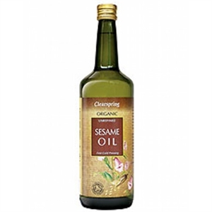 Clearspring Organic Sesame Oil 1000ml