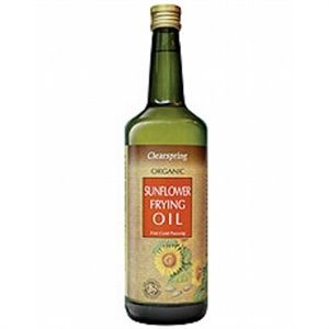 Clearspring Organic Sunflower Frying Oil 1000ml