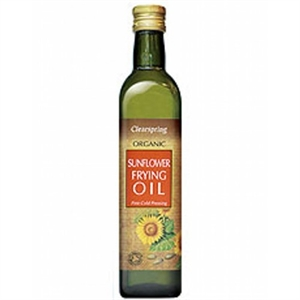 Clearspring Organic Sunflower Frying Oil 500ml