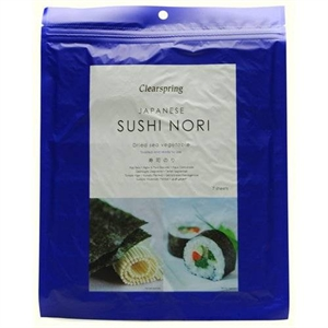 Clearspring Sushi Nori Sea Vegetable 17g