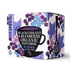Clipper Blackcurrant and Blueberry 10bag