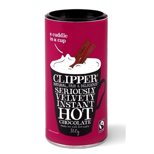 Clipper Fairtrade Inst Hot Chocolate 350g