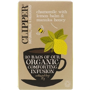 Clipper Org Infusion Chamomile & Lemon 20bag