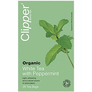 Clipper Organic White Tea +Peppermint 26bag