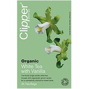 Clipper Organic White Tea + Vanilla 26bag