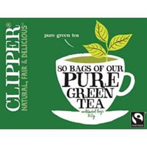 Clipper Pure Green Tea 80bag