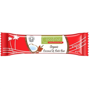 Cocofina Coconut & Date Bar 40g