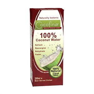 Cocofina Coconut Water 200ml