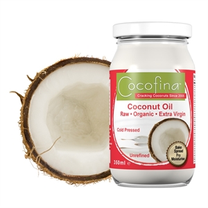 Cocofina Organic Coconut Oil 350ml