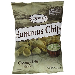 Cofresh Eat Real Humus Chip Cream Dill 45g