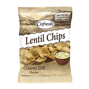 Cofresh Eat Real Lentl Chip Cream Dill 113g