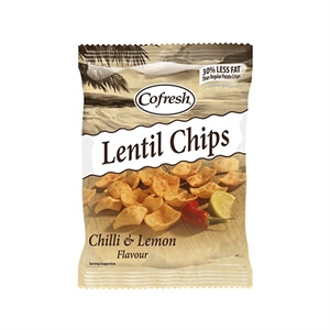 Cofresh Eat Real Lentl Chip Lem Chilli 40g