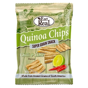 Cofresh Eat Real Quinoa Chili Lime 80g
