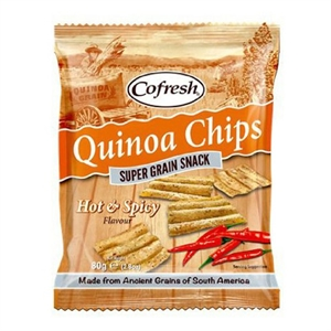 Cofresh Eat Real Quinoa Hot Spicy Chip 80g