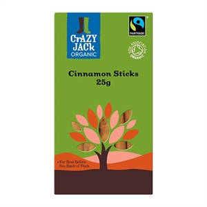 Crazy Jack Cinnamon Sticks F/T 25g