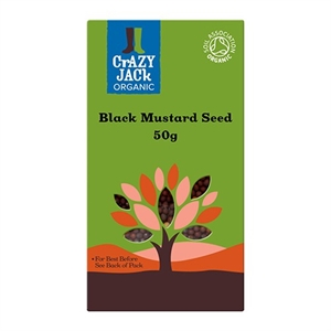Crazy Jack Mustard Seeds - Black 50g