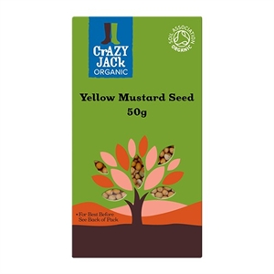 Crazy Jack Mustard Seeds - Yellow 50g