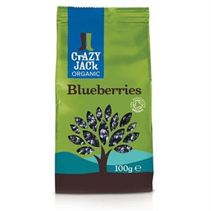Crazy Jack Organic Blueberries 100g