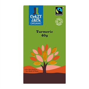 Crazy Jack Organic Turmeric Fair Trade 40g