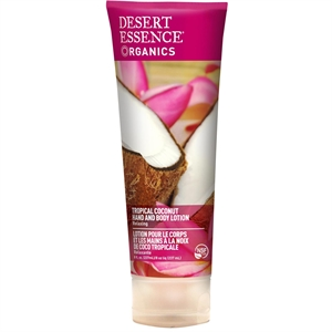 Desert Essence Org Trop Coconut H & B Lotion 237ml