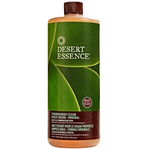 Desert Essence T Clean Face Wash Refill 946ml