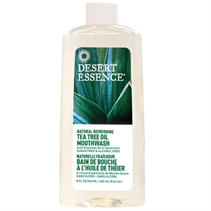 Desert Essence Tea Tree Oil Mouthwash 237ml
