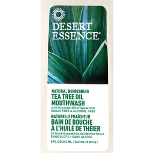 Desert Essence Tea Tree Oil Mouthwash Refill 473ml
